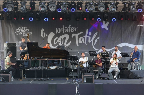 Halil İbrahim Işık Band'dan caz ziyafeti