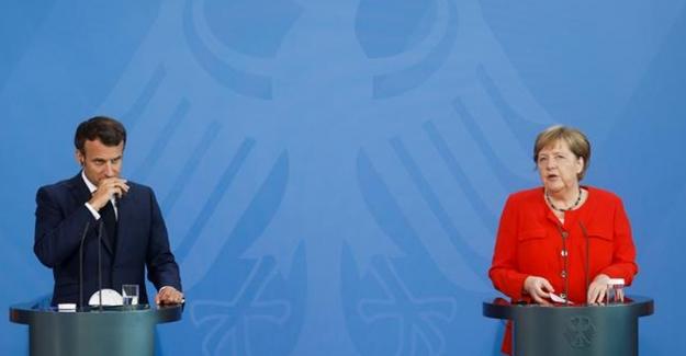 Merkel ve Macron'dan ortak Türkiye mesajı