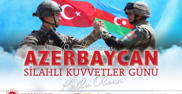 MSB: Bizleri sevince boğan güçlü Azerbaycan Silahlı Kuvvetlerini saygıyla selamlıyoruz