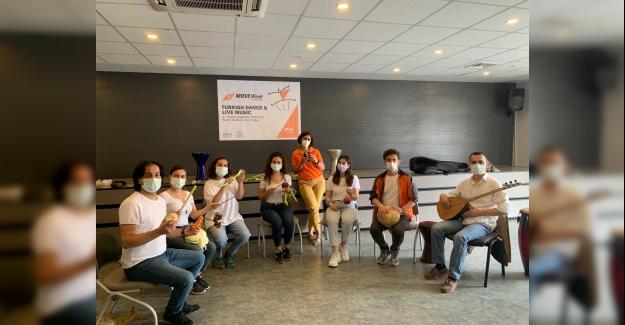 Sebze Orkestrası uluslararası etkinlikte performans sergiledi