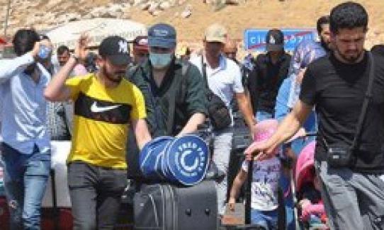 44 bin Suriyeli daha bayram için ülkesine gitti. Evlenmek için giden de var