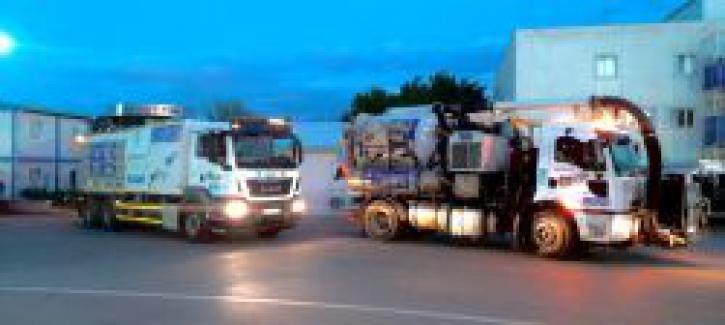 BUSKİ Araçları sel baskını nedeniyle destek için Artvin'e yol alıyor