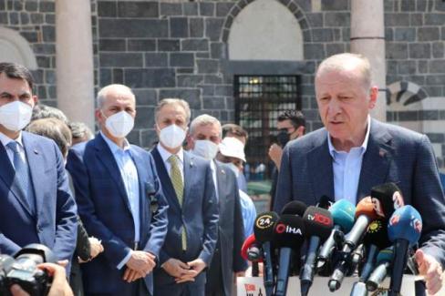 Cumhurbaşkanı Erdoğan: Diyarbakır Cezaevi'ni kapatıp kültür merkezi yapacağız