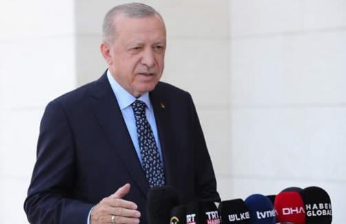 """Erdoğan: """"Orman yangınlarından etkilenen hiçbir vatandaşımızı mağdur etmeyeceğiz"""""""