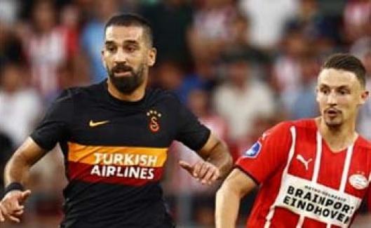Galatasaray, deplasmanda PSV'ye 5-1 mağlup oldu