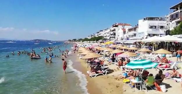 Kurban Bayramı tatilinde Avşa, Marmara ve Ekinlik Adalarına yerli turist akını