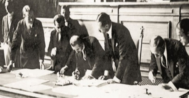 Lozan Barış Antlaşması'nın imzalanışının 98'inci yıl dönümü
