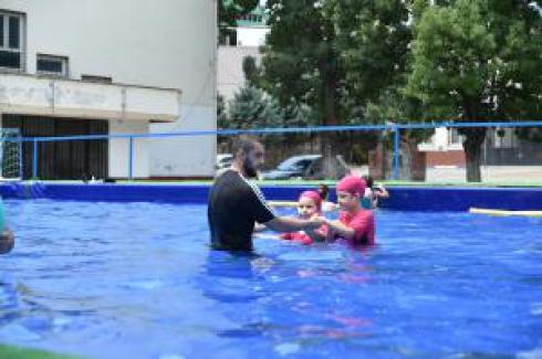 Orhangazili Çocuklar yüzme eğitimlerine kavuştular