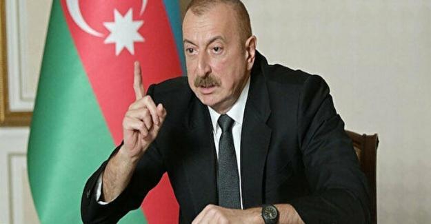 """Aliyev: """"Ermeniler ve bazı yabancı şirketler Azerbaycan'ın doğal kaynaklarını yağmaladı"""""""