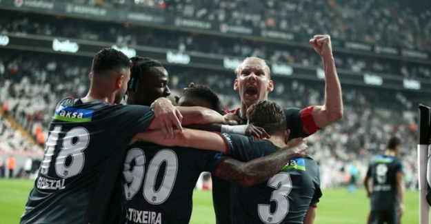 Beşiktaş 1 - 0 Karagümrük.