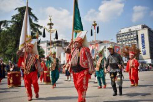 Bursa'da 'Zafer Bayramı' coşkusu