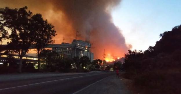 Korkulan yaşanıyor; Alevler Termik Santrale Ulaştı!..