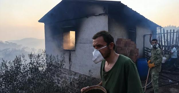 """Tarım ve Orman Bakanı Pakdemirli; """"125 yangından 117'si kontrol altına alındı.."""""""