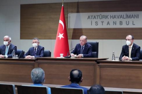 """""""Türkiye olarak, Balkanlar'ın tümüyle refah, huzur ve barış içinde kalkınmasına büyük önem atfediyoruz"""""""