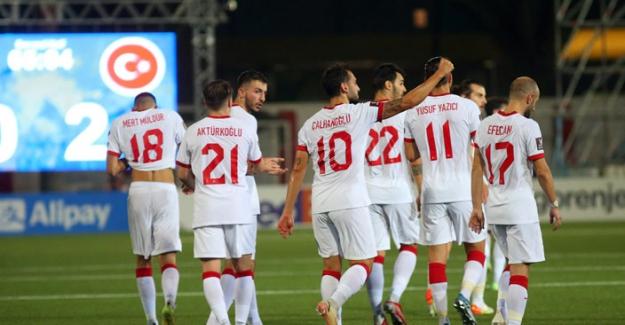Cebelitarık'la tarihinde ilk kez karşılaşan Türkiye 3-0'lık galibiyetle ayrıldı
