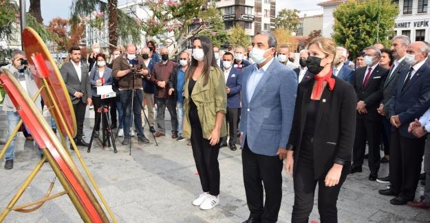 CHP'nin 98. Kuruluş Yıldönümü törenlerle kutlandı