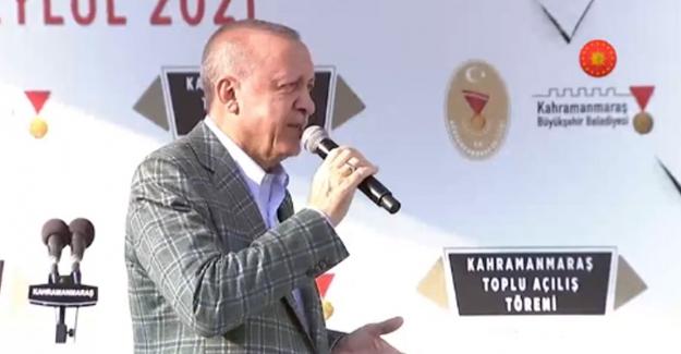 Erdoğan: Enflasyonu kısa sürede kontrol altına alarak raflardaki fahiş fiyat artışlarının önüne geçeceğiz