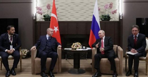 Erdoğan-Putin görüşmesi: Soçi'deki zirve için Putin 'çok yararlı ve önemli', Erdoğan 'verimli' dedi