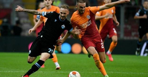 Galatasaray Lazio'yu 1-0 yendi, UEFA Avrupa Ligi'nde grup maçlarına galibiyetle başladı