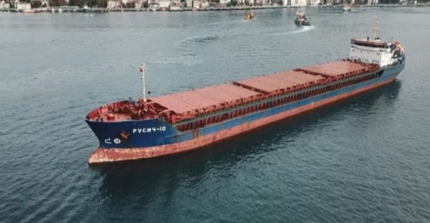İstanbul açıklarında Türk ve Rus bandralı 2 kuru yük gemisi çarpıştı