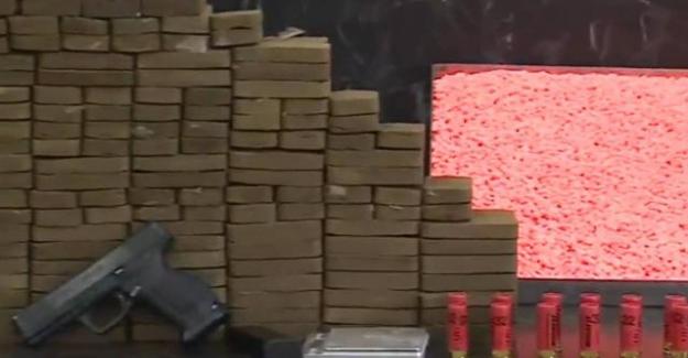 İstanbul'da narkotik operasyonu: 123 bin uyuşturucu hap ele geçirildi