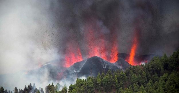 Kanarya Adaları'ndaki La Palma yanardağı faaliyete geçti