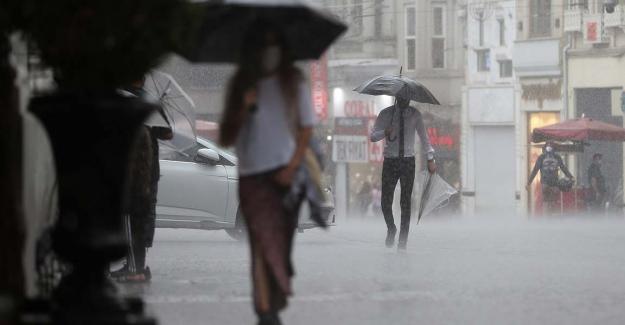 """Meteoroloji'den sonra AFAD'dan 7 il için """"çok kuvvetli"""" yağış uyarısı!"""