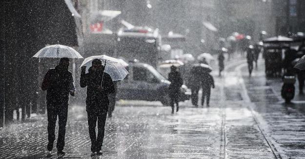 """Meteoroloji uyardı: """"Sağanak yağışlar geliyor"""""""