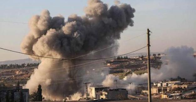 Rusya İdlip'te hava saldırıları düzenledi