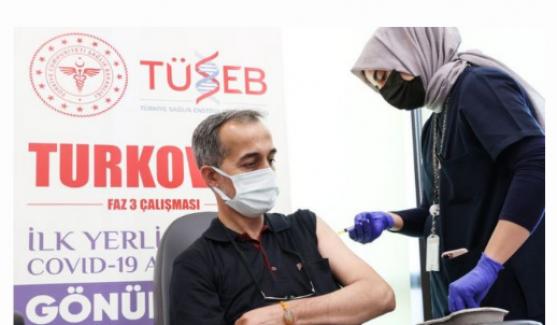 """Bakan Koca: """"Yerli aşımız Turkovac acil kullanım onayına müracaat edecek aşamaya geldi"""""""