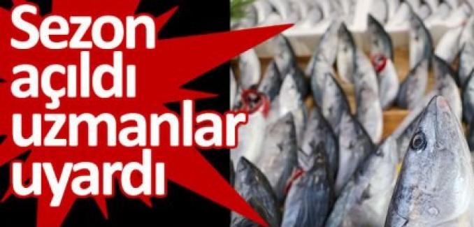"""Sezon açıldı uzmanlar uyardı: """"Esmer etli balıklara dikkat!.."""""""