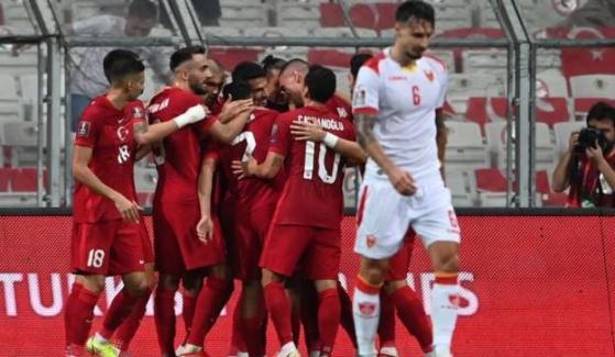 Türkiye, Dünya Kupası elemelerinde Karadağ ile 2-2 berabere kaldı