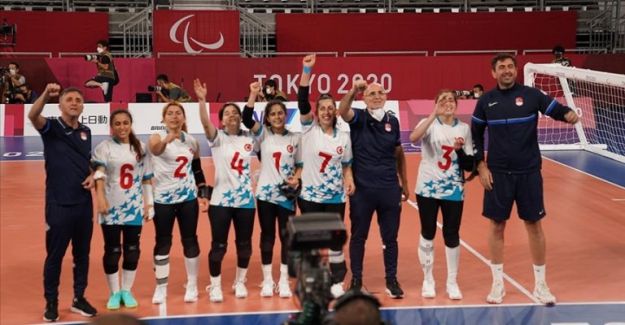 Türkiye Golbol Kadın Milli Takımı, 2020 Tokyo Paralimpik Oyunları'nda şampiyon oldu