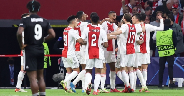 UEFA Şampiyonlar Ligi'nde Beşiktaş, Ajax'a 2-0 mağlup oldu