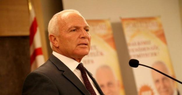 Zorlu Töre, Kıbrıs UBP Genel Başkanlığı'na aday olduğunu açıkladı