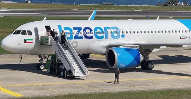 Al  Jazeera Uçağı bomba ihbarı üzerine Trabzon'a indirildi