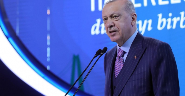 """Erdoğan: """"Kanal İstanbul fiilen uygulama aşamasına geldi"""""""