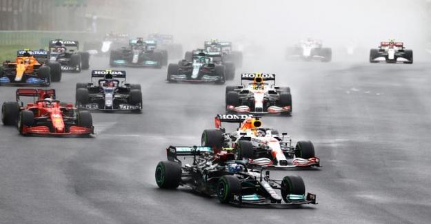F1: İstanbul yarışında zafer Bottas'ın