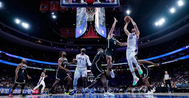 Furkan coştu; Philadelphia, Nets'i yıktı