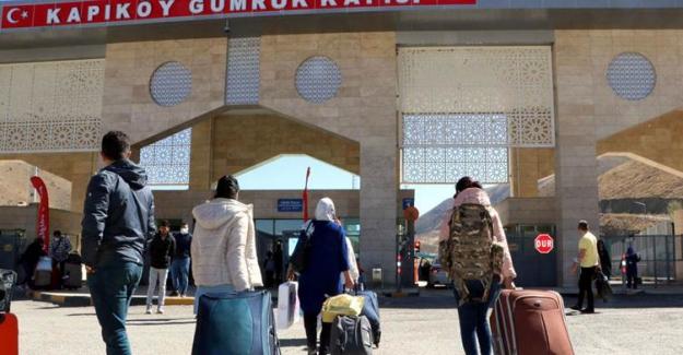 Kapıköy ve Esendere Gümrük Kapıları tamamen açıldı