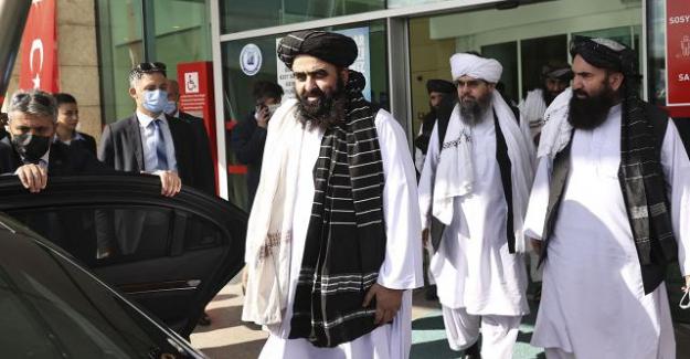 Taliban hükümetinin Dışişleri Bakan Vekili Emirhan Muttaki Türkiye'de