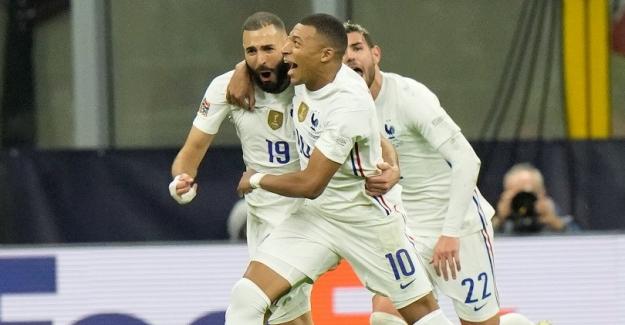 UEFA Uluslar Ligi finalinde Fransa, İspanya'yı 2-1 yenerek şampiyon oldu