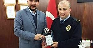 Emniyet mensuplarından tarihçi - yazar Koray Kamacı'ya teşekkür..