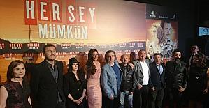 """""""Her Şey Mümkün"""" filminin Ankara Galası yapıldı"""