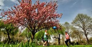 Bursa'nın baharı fotoğrafa yansıyor