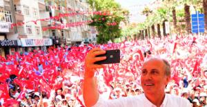 """Muharrem İnce Kahramanmaraş'tan seslendi; """"Erdoğan Çiller'den medet umuyor"""""""