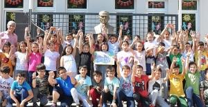 """""""Sağlıklı Adımlar"""" Resim Yarışmasını Bursalı öğrenci kazandı"""