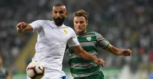 Sezon öncesi hazırlık maçında; Bursaspor 0–2 Ankaragücü