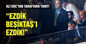 Fenerbahçe ile Beşiktaş 1-1 berabere kaldı.
