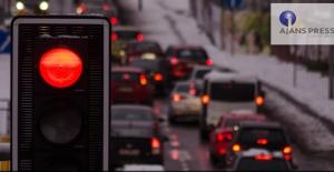 Bir milyondan fazla araç trafikten men edildi